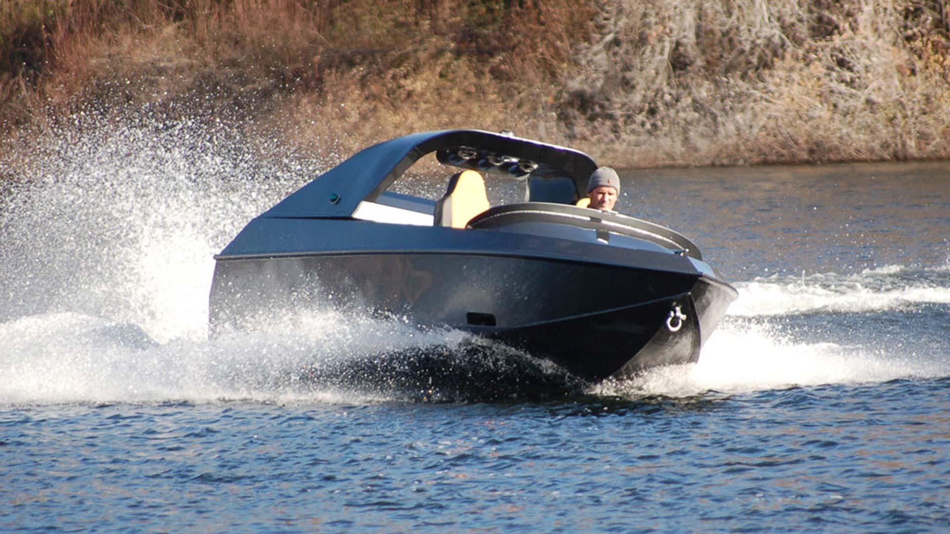 Jet Boat 480 WJ - Moggaro Aluminium Yachts